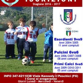 Stagione Sportiva 2016/2017 ed Orari Primaverili
